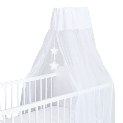 Voile de lit Domiva Little bear blanc
