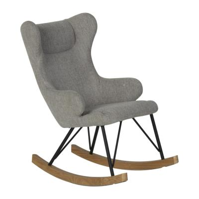 Rocking Chair enfant Deluxe Sand Grey